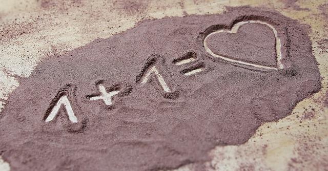 1 + 1 = love
