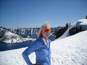Outdoors at Crater Lake